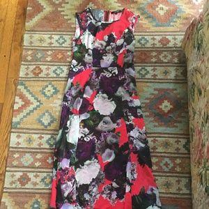 High-Low Flower Dress